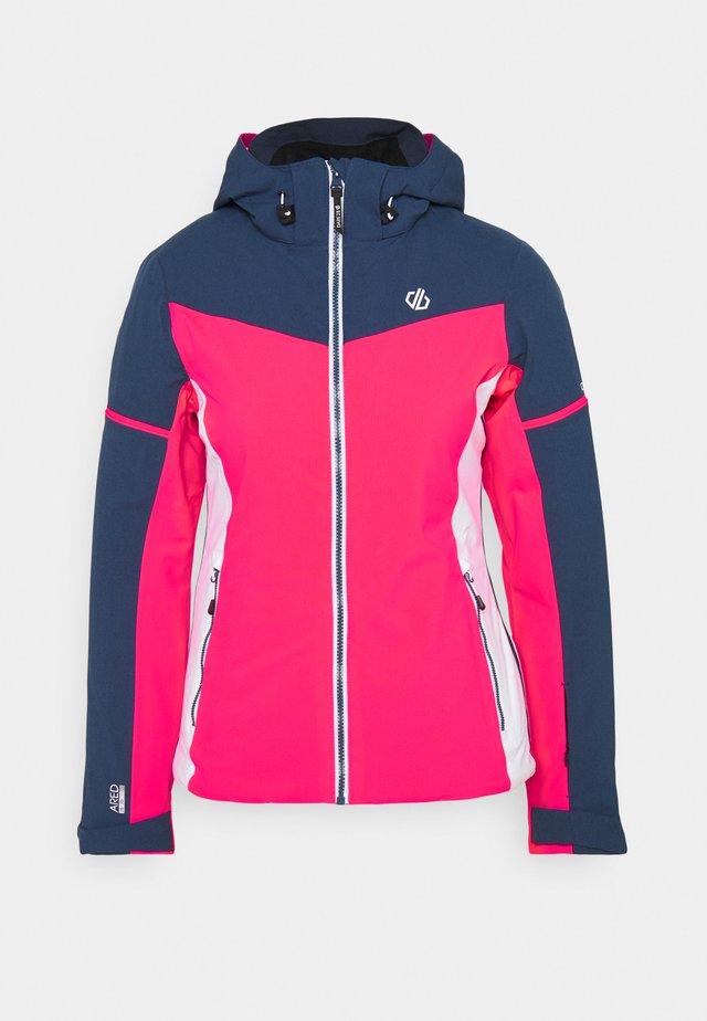 ENCLAVE JACKET - Ski jas - neon pink