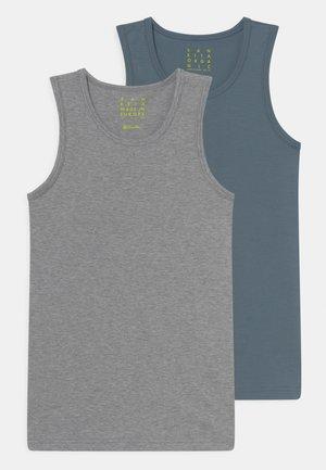 2 PACK - Undershirt - elite grey melange