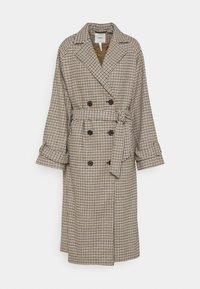 OBJKEILY COAT TALL - Classic coat - sepia