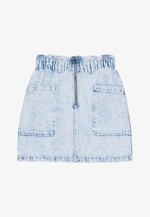 MIT STRETCHBUND - Denimová sukně - blue denim