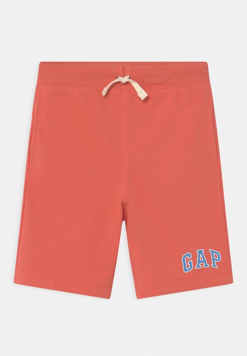 GAP - BOY LOGO  - Pantaloni sportivi - deep papaya