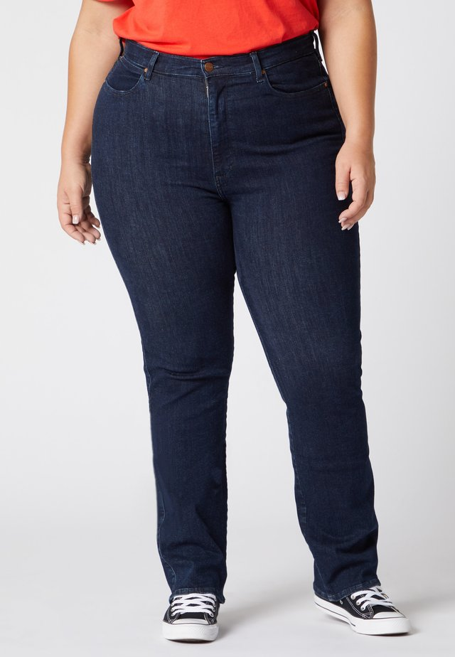 PLUS - Straight leg jeans - aruba