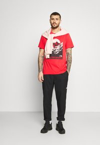 The North Face - NATURAL WONDERS TEE VINTAGE - Print T-shirt - rococco red - 1