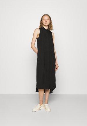 ANGELINA DRESS SET - Stickad tröja - black