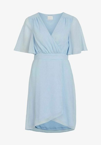 VIRILLA 2/4 SLEEVE DRESS - Cocktail dress / Party dress - cashmere blue