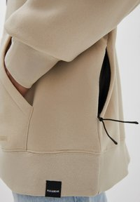 PULL&BEAR - Hoodie - mottled beige - 4