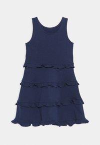 Polo Ralph Lauren - TIER DRESS - Žerzejové šaty - french navy - 1