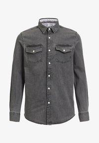 WE Fashion - Shirt - light grey - 2