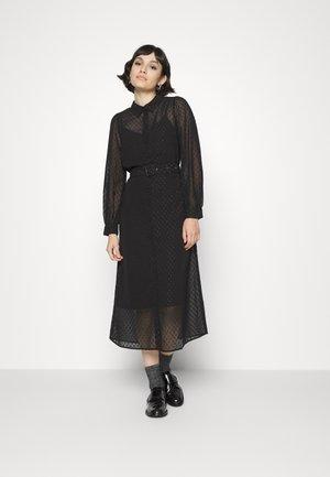 VMCAISA SHIRT DRESS - Shirt dress - black