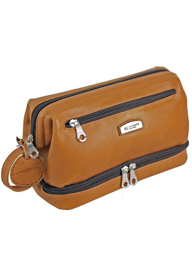 COUNTRY KULTURTASCHE - Wash bag - cognac