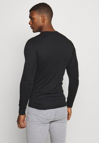 ODLO - ACTIVE WARM ECO TOP CREW NECK - Funktionsshirt - black
