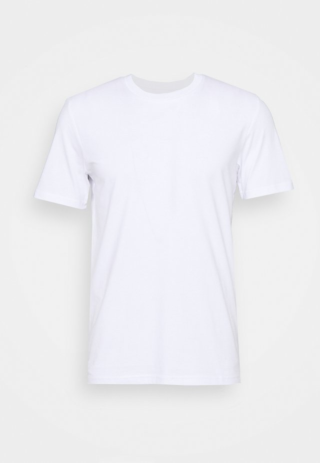 POUR UN MONDE MELLIEUR UNISEX - Print T-shirt - white/green