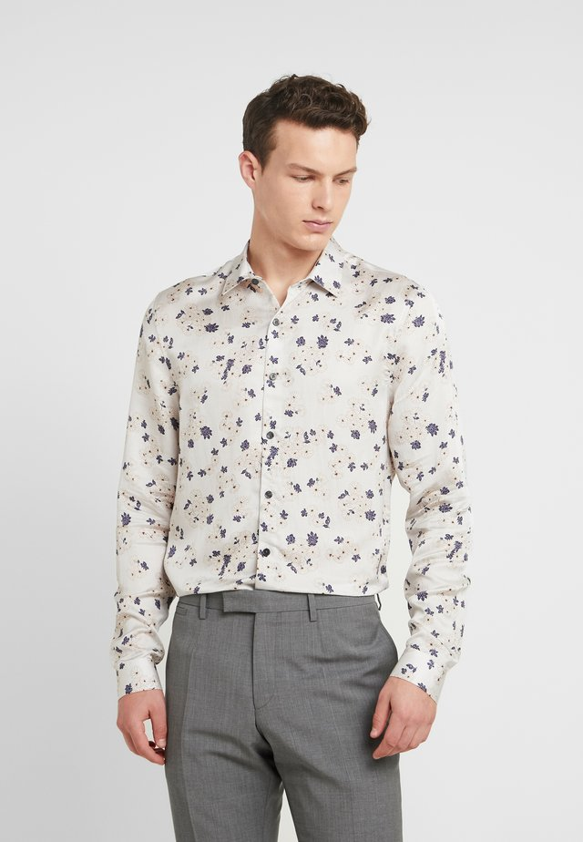 JAPANESE FLORAL - Shirt - grey