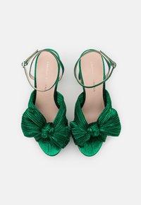 Loeffler Randall - NATALIA - Sandály na vysokém podpatku - emerald - 4