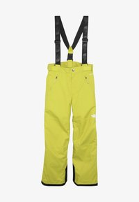The North Face - SNOW PANT - Schneehose - citro green - 4