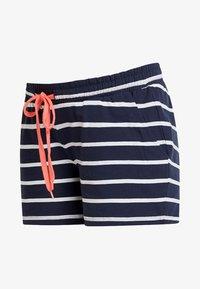 MAMALICIOUS - MLPERA - Shorts - navy blazer/snow - 3