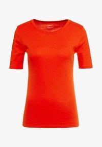 J.CREW - CREWNECK ELBOW SLEEVE - Basic T-shirt - bold red - 3