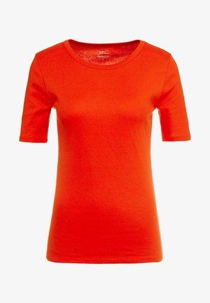 CREWNECK ELBOW SLEEVE - Basic T-shirt - bold red