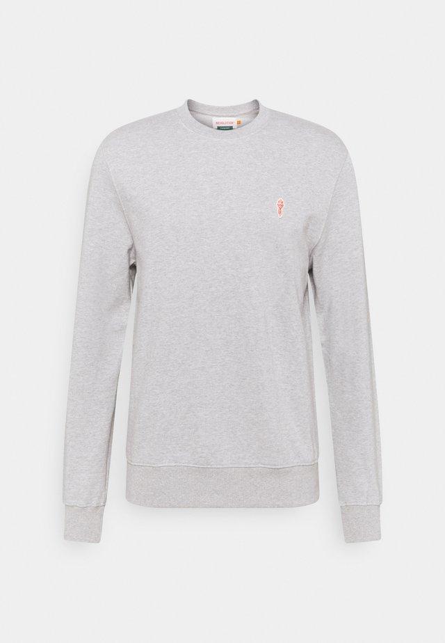 CREWNECK - Sweater - grey mel