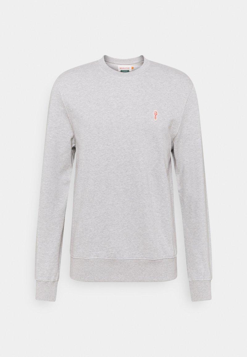REVOLUTION - CREWNECK - Sweatshirt - grey mel