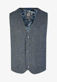 Calamar - Suit waistcoat - blue denim - 0