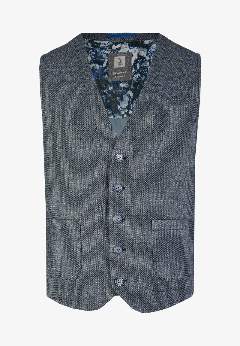 Calamar - Suit waistcoat - blue denim