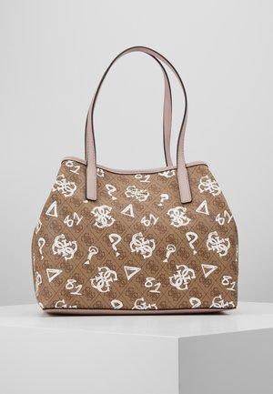 VIKKY TOTE - Handbag - brown