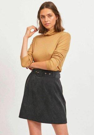 VIADELA - A-line skirt - black