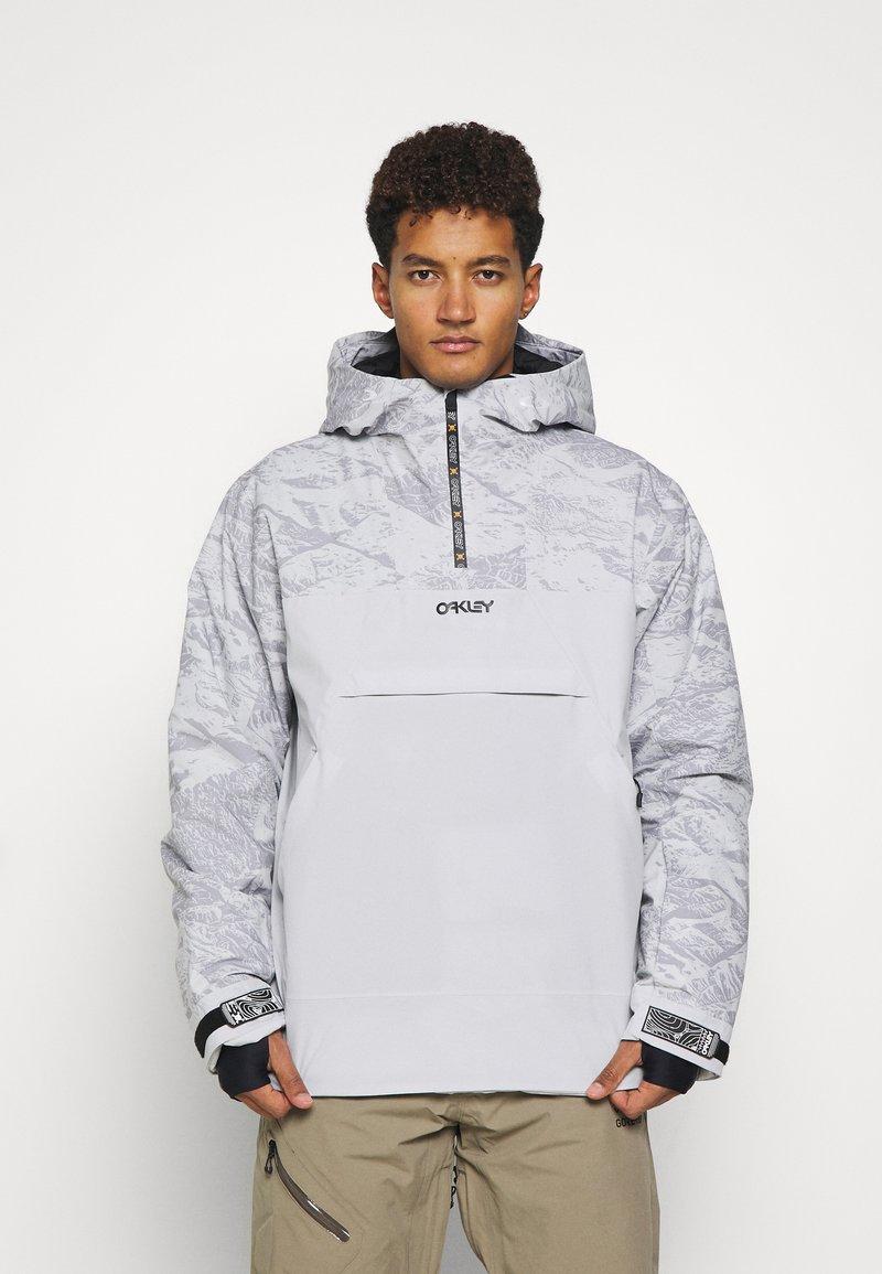 Oakley - ICE PULLOVER - Snowboard jacket - grey
