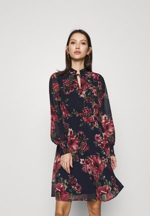 VMNEWSUNILLA SMOCK DRESS - Day dress - navy blazer/newsunilla