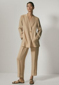 Massimo Dutti - Blazer - beige - 1