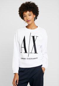 Armani Exchange - Sweatshirt - white - 0