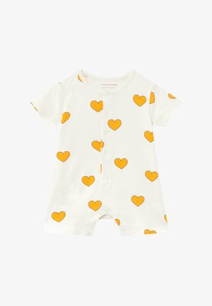 HEARTS ON PIECE - Jumpsuit - off-white/yellow