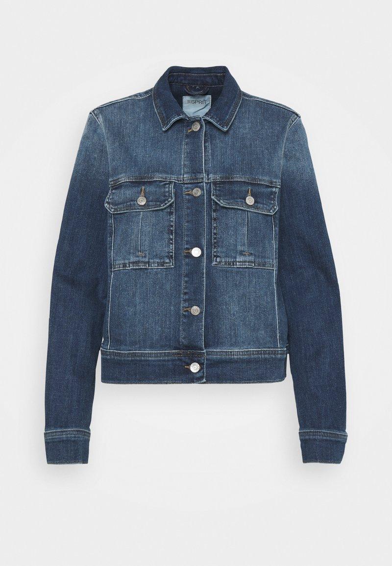 Esprit - Denim jacket - blue medium wash
