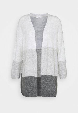JDYELANORA STRIPE  - Vest - dark grey melange