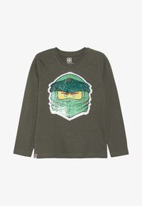 LEGO Wear - Langærmede T-shirts - dark green - 2