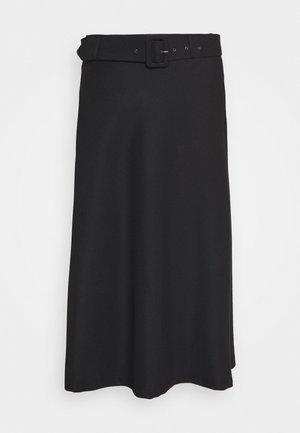KASOFFI SKIRT - A-line skirt - black deep