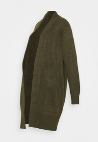 New Look Curves - CARDIGAN - Cardigan - dark khaki - 0