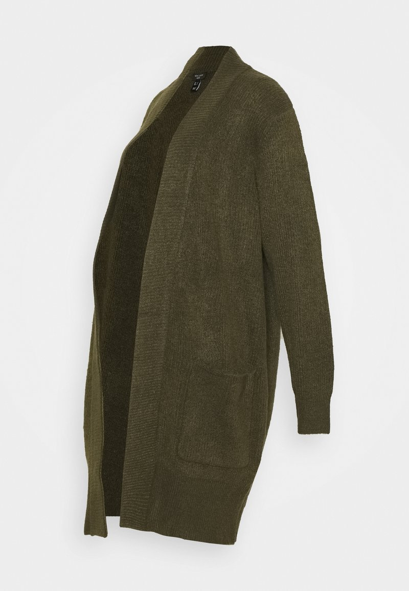 New Look Curves - CARDIGAN - Cardigan - dark khaki