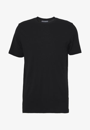 TECH LITE CREWE - Basic T-shirt - black
