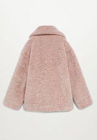 Mango - ARISON - Wintermantel - pink - 1