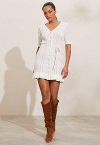 Odd Molly - LAURA - Jumper dress - light chalk - 4