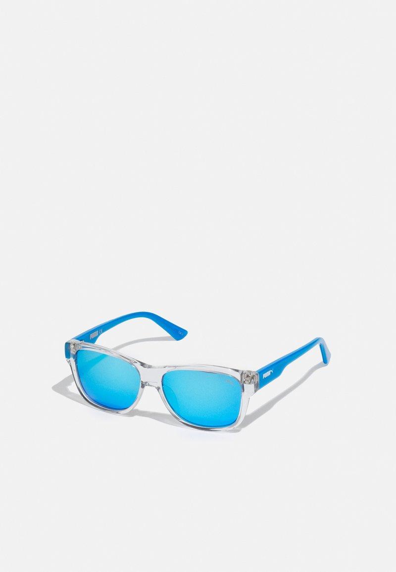 Puma - SUNGLASS KID  - Sluneční brýle - crystal/light blue