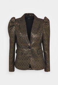 Selected Femme - SLFGEE - Blazer - black/gold - 0