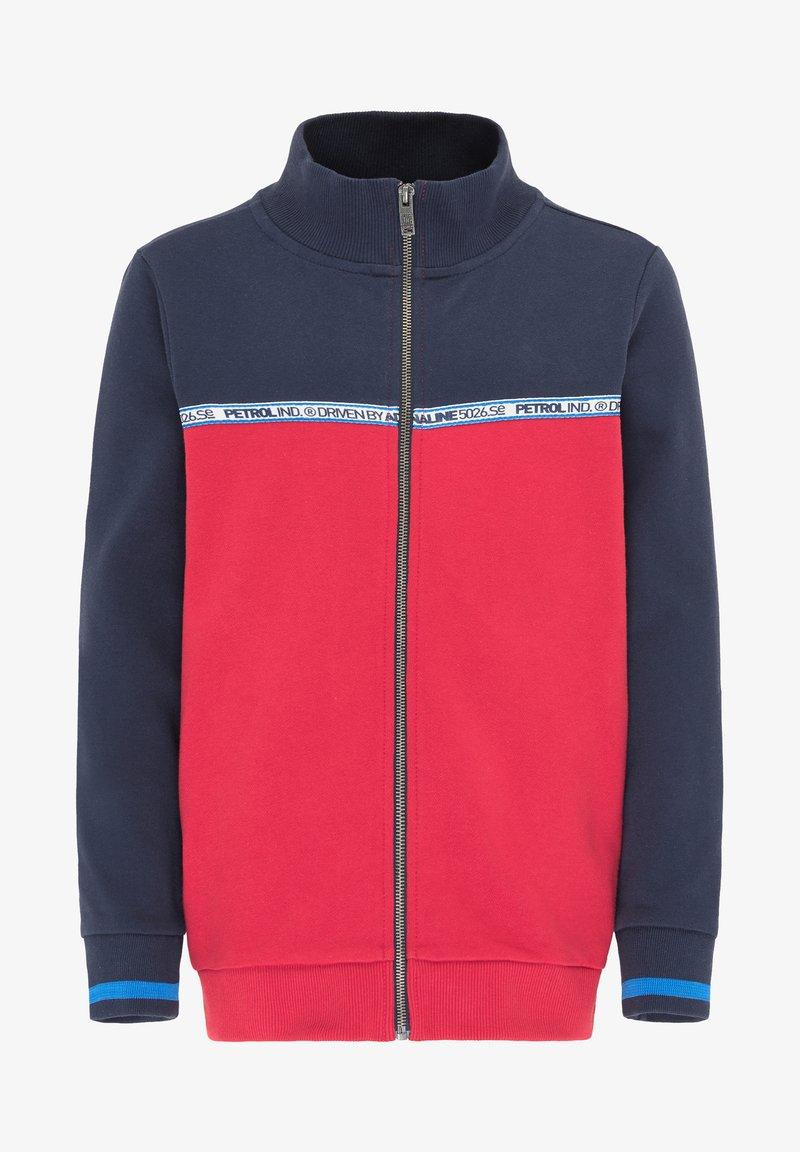 Petrol Industries - Zip-up hoodie - fire red