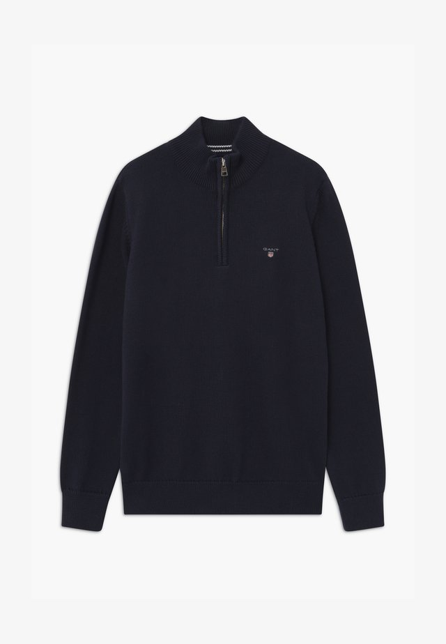 CASUAL HALF ZIP - Jumper - evening blue