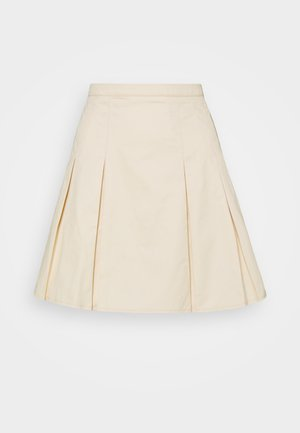 PLEATD SKIRT - Mini skirt - nude rose