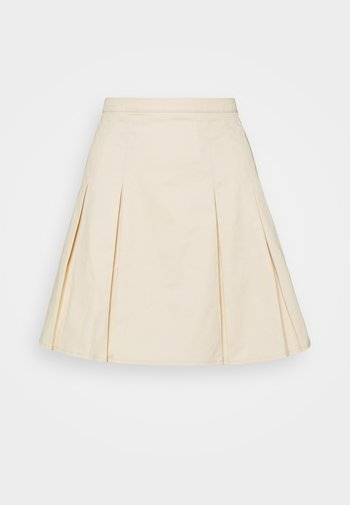 PLEATD SKIRT - Mini skirt - nude rose