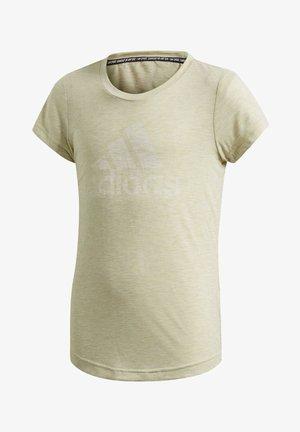 MUST HAVES T-SHIRT - T-shirt print - yellow
