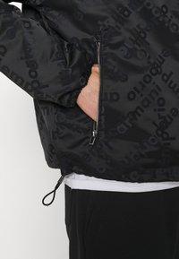 Emporio Armani - BLOUSON JACKET - Summer jacket - black - 6